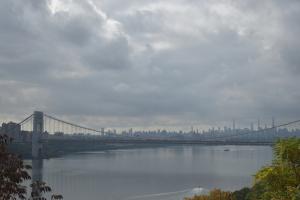 曇り空のマンハッタン