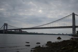 ハドソン川からマンハッタン、十月十一日
